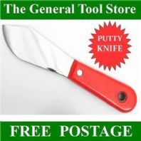 DECORATORS PUTTY KNIFE STAINLESS STEEL BLADE